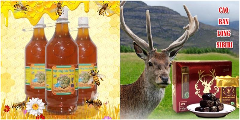 Chỉ có các thương hiệu hàng đầu mới có các sản phẩm cao ban long và mật ong chất lượng